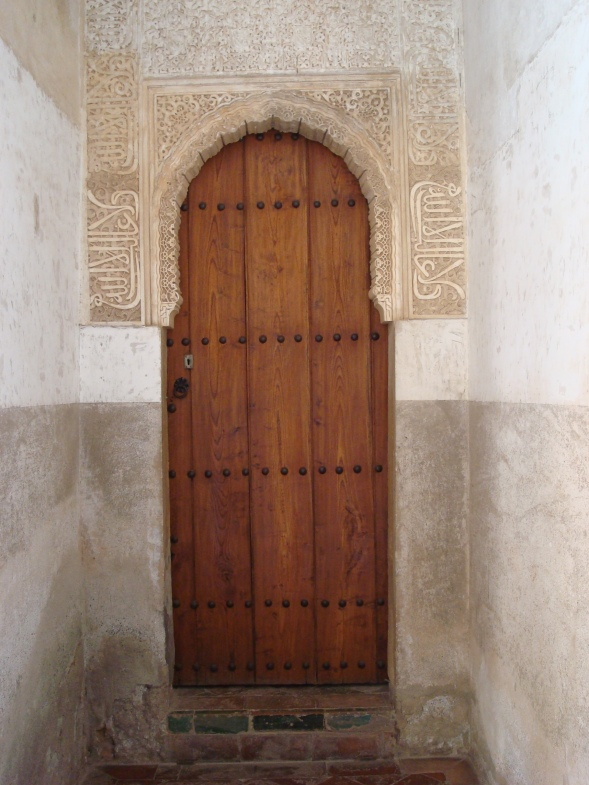Doorway in La Alhambra